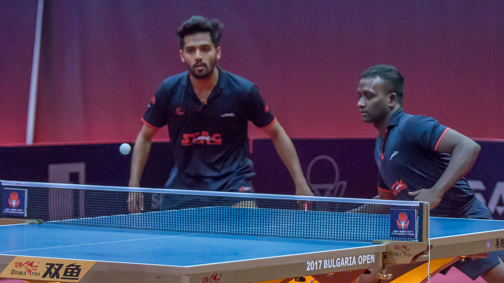 ANTHONY Amalraj- Sanil Shetty at ITTF Thailand Open