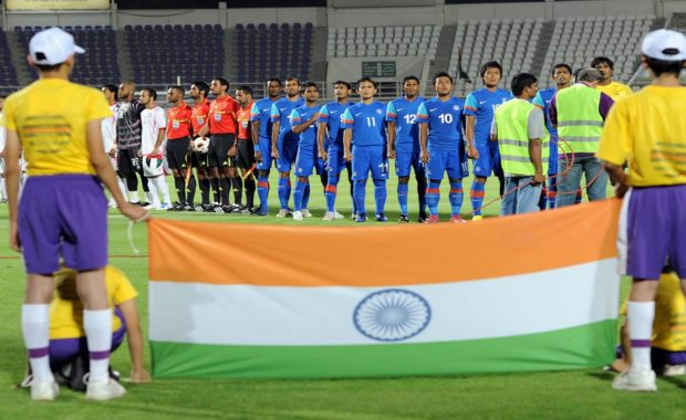 Indian Football Team starts the Tri-series campaign with a Win !