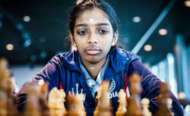 """Asian Blitz Chess Championship : Vaishali grabs """"Gold"""", after a Bronze in Classic Event"""