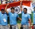 """Archery World Cup : Indian Compound Team storms into """"GOLD-Medal"""" match, beats top ranked U.S.A"""