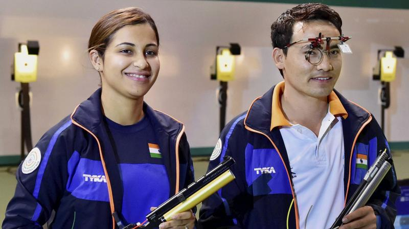 Jitu Rai & Heena Sidhu Commonwealth