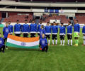 Football : Indian U-17 Football Team defeats Italy U-17 by 2-0