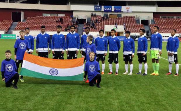 Football : Indian U-17 Football Team defeats Italy U-17 by 2-0