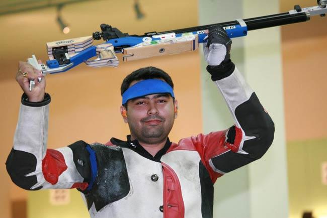 Gagan Narang in Commonwealth Championship