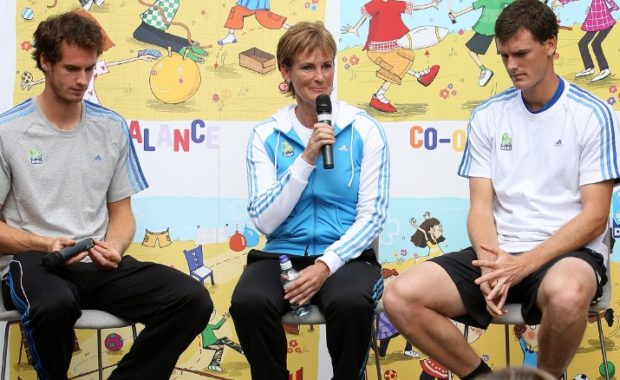 Judy Murray speaks about the Rivalry between Andy & Jamie Murray