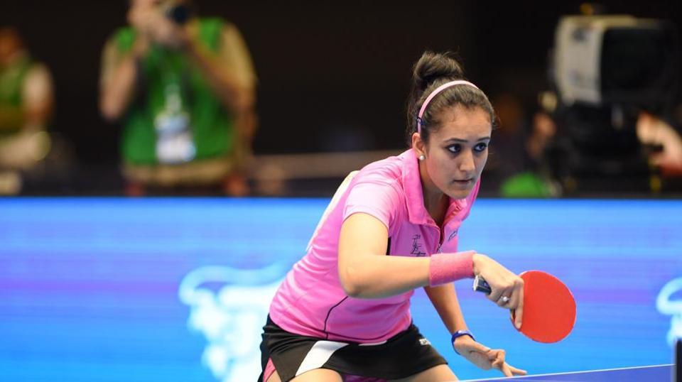Manika Batra at ITTF World Platinum Tour Australian Open