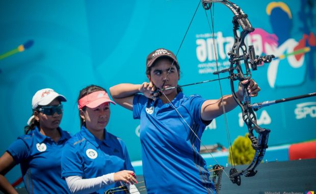 """Asia Archery Cup : Lucky Women Compound Team marches into finals,  Divya Dhayal to go for """"Triple Gold"""""""