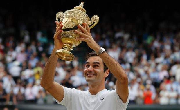 """Federer renames Wimbledon trophy in tribute to """"Former British Champion"""""""