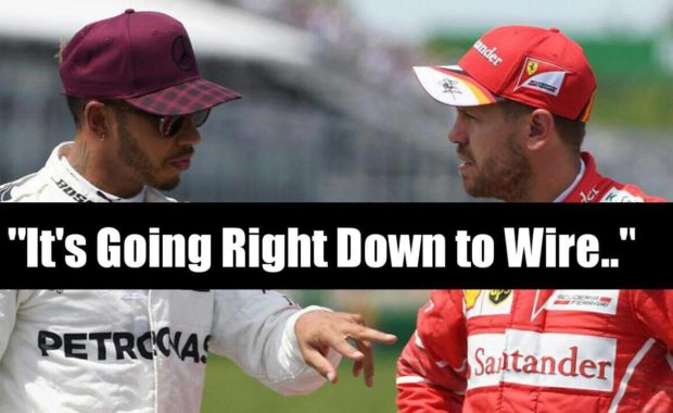 "Lewis Hamilton speaks about his ""Title Battle with Sebestian Vettel"""