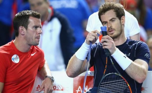 The Great Britain Davis Cup Captain speaks about Andy Murray's comeback