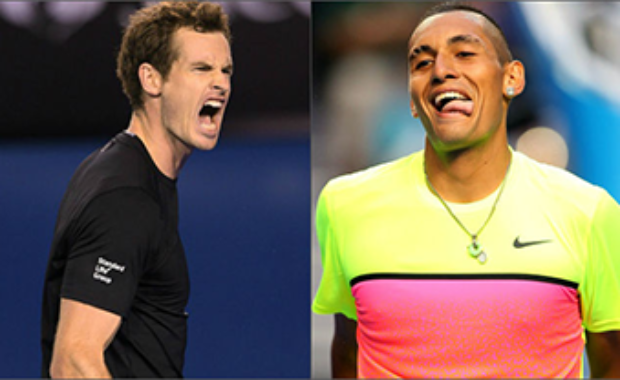 Andy Murray's Hilarious response to Kyrgios celebrating video !!