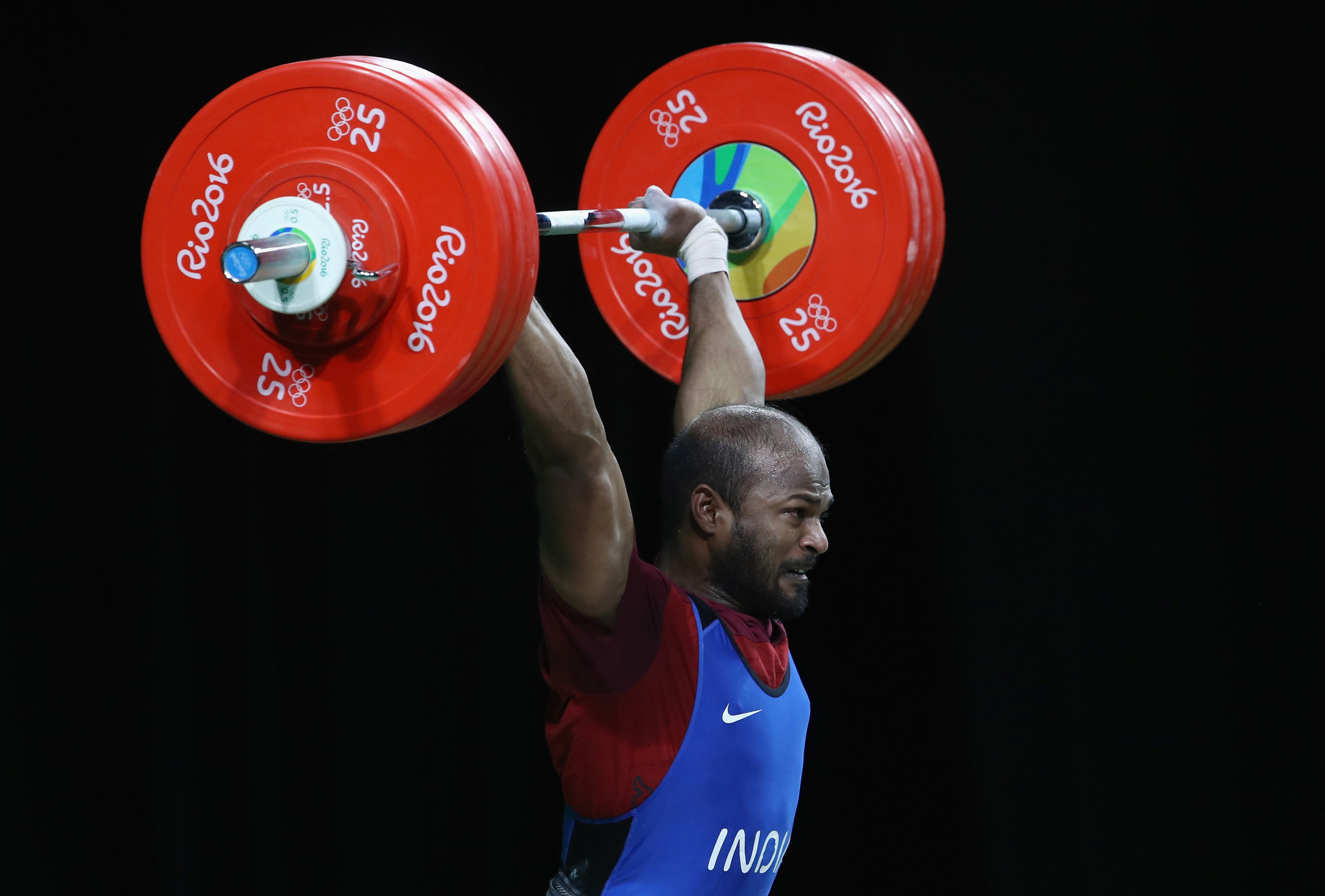 Sathish Sivalingam in commonwealth weightlifting championship