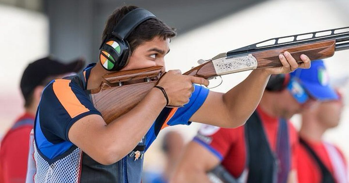 Shapath Bhardwaj in ISSF Junior World Cup