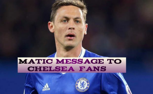 Nemanja Matic sends message to Chelsea fans after Man United transfer