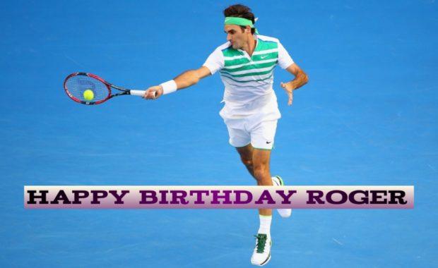 Happy 36th Birthday, Roger Federer!