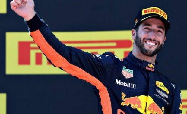 Daniel Ricciardo to party at the Singapore GP on one condition