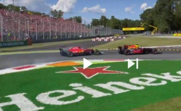 Watch : Daniel Ricciardo sensational move of the day on Kimi Raikkonen