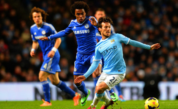 """Chelsea's Star Willian issues """"Title warning"""" to Man City & Man United"""