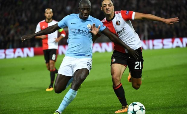 Benjamin Mendy trolled by Manchester City's twitter account