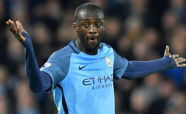 Pep Guardiola reveals why Yaya Toure hasn't featured for Manchester City