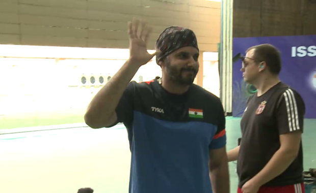 Amanpreet Singh wins bronze in Men's 50m pistol finals
