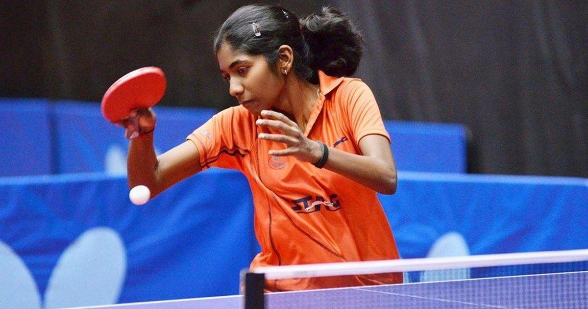 Selena Selvakumar in Egypt Junior & Cadet Table Tennis