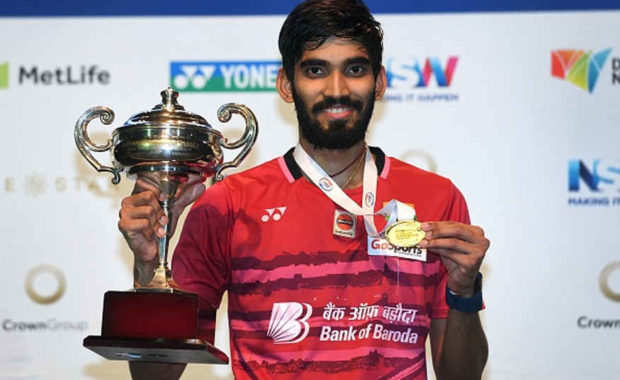 """""""Golden Boy """" Kidambi Srikanth  set to be No. 1 in Dubai Super series standing and no 4 in Bwf Ranking"""