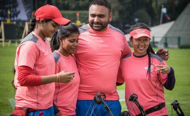 Women Compound Team Enter Final OF World Championship