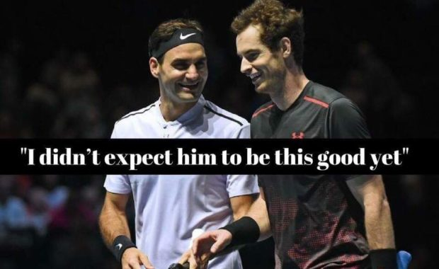 Roger Federer reveals how Andy Murray left him shocked in Glasgow charity match