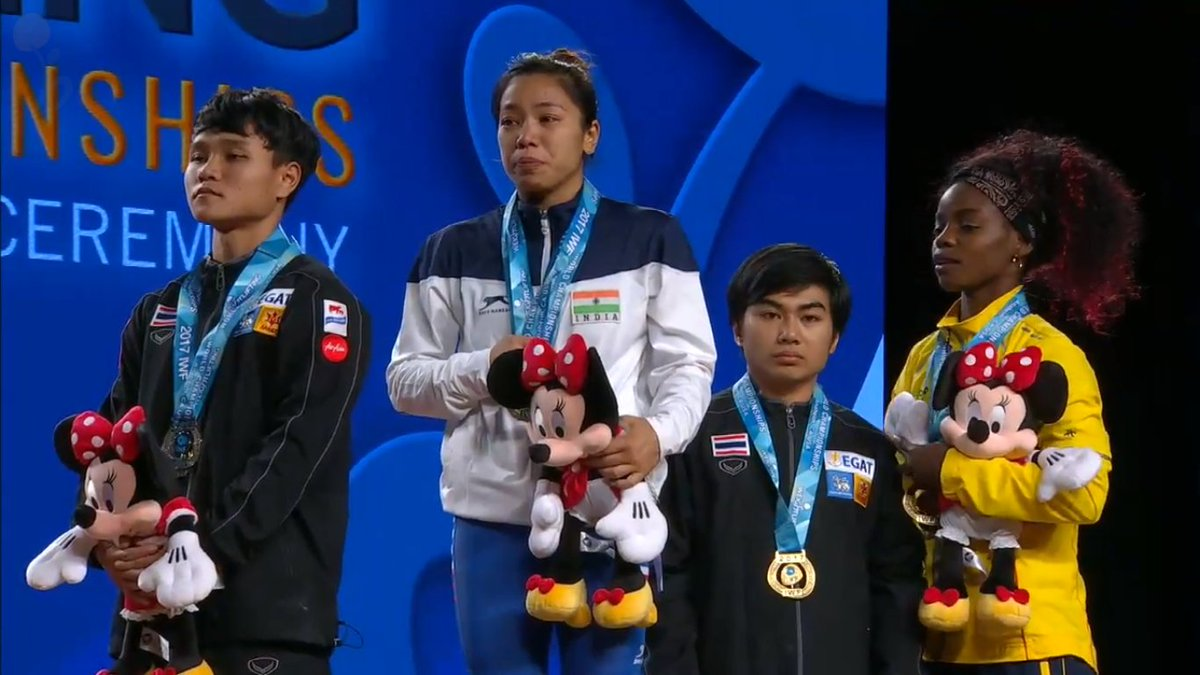 Mirabai Chanu at World Weightlifting Championship