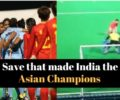 WATCH: The brilliant save by Savita Punia which helped India win Asia Cup Title after 13 years