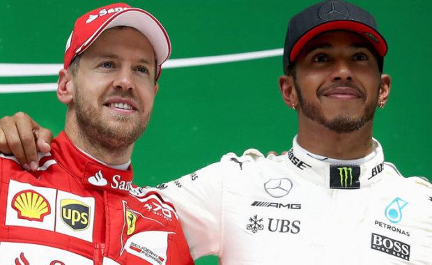 Rivals Hamilton, Vettel united over halo effect