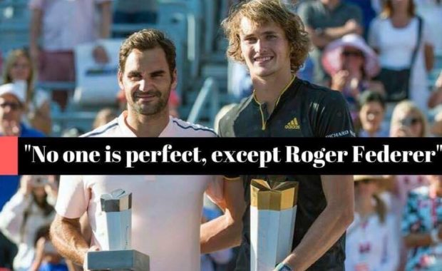 Alexander Zverev speaks on Roger Federer's excellence