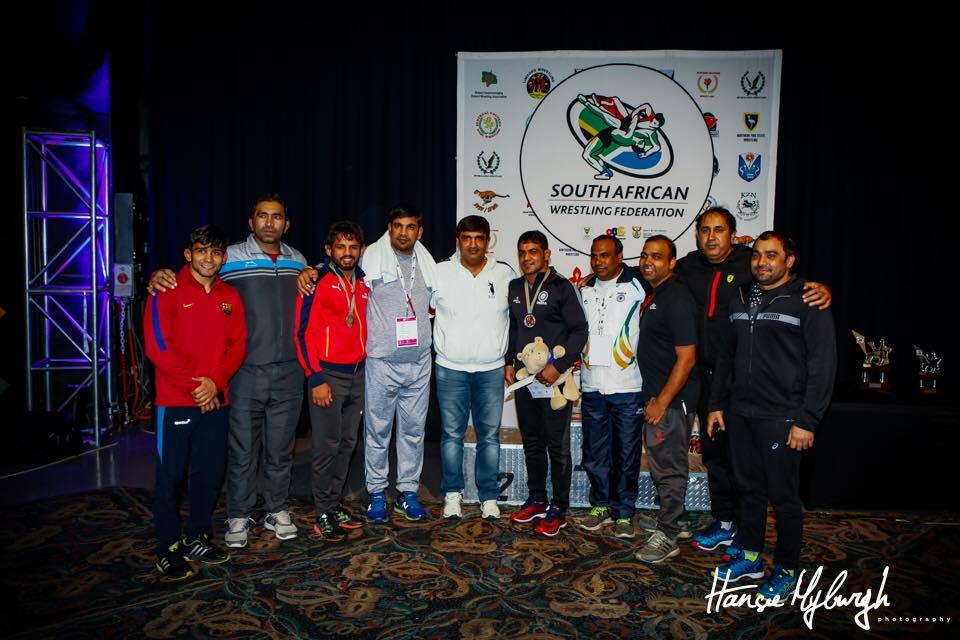 Indian wrestling team