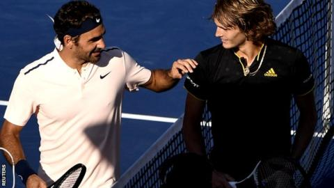 Alexander Zverev speaks on Roger Federer