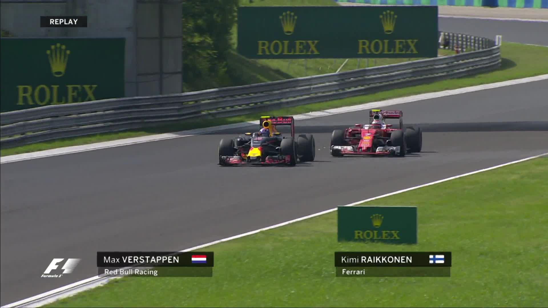 Verstappen Raikkonen overtake