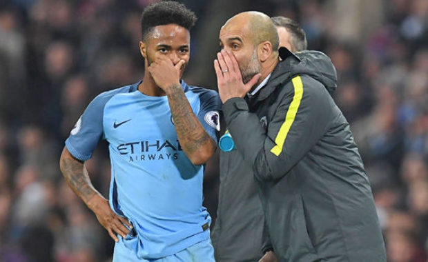Man City's Raheem Sterling is hoping for Real Madrid move