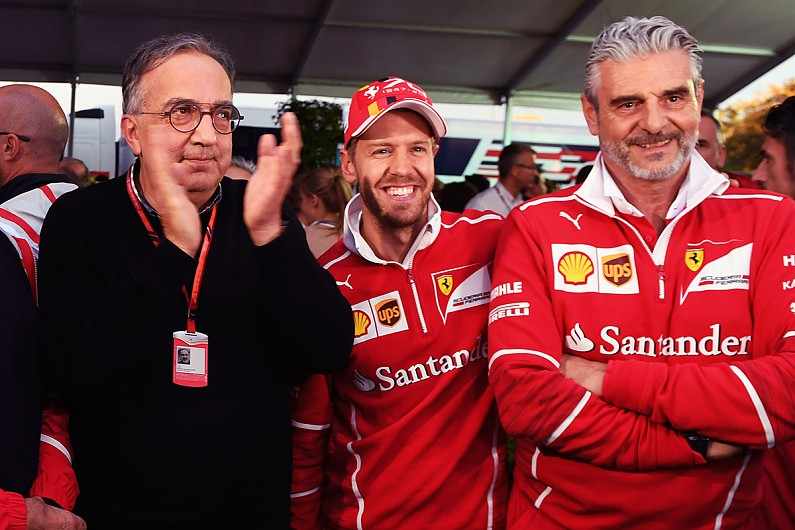 Ferrari chief & Vettel