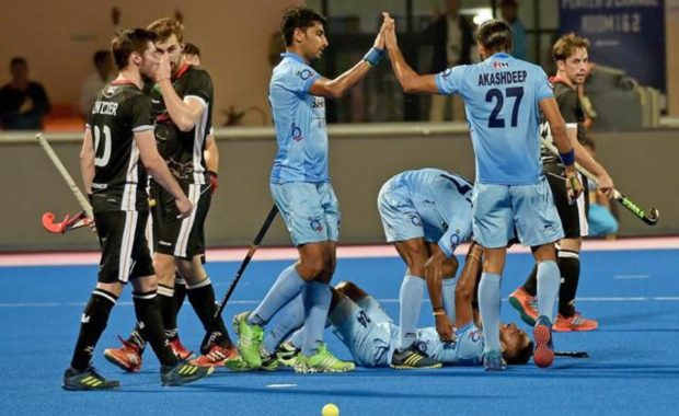 Indian hockey team stuns Germany to cinch Bronze at HWL Final
