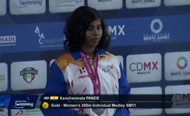 World Para Swimming Championship : Kanchanmala becomes first Indian to win gold