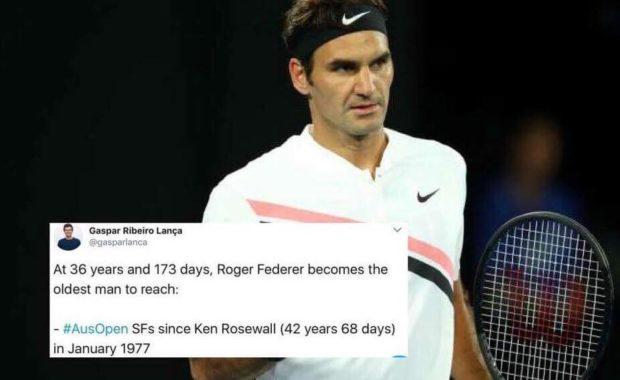 Twitter reacts as Roger Federer reaches semi-finals of Australian Open 2018