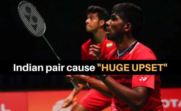 Indonesia Masters : Satwiksairaj & Chirag stuns World no.6 pair