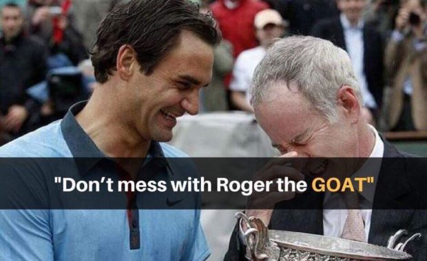 John McEnroe warns Marin Cilic about Roger Federer with a funny story
