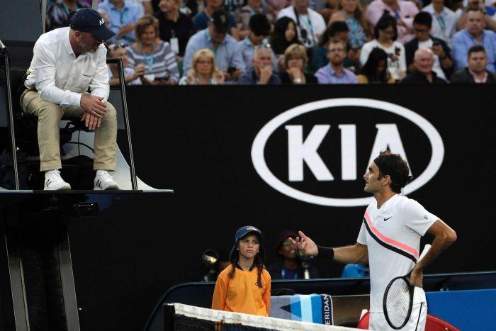 Roger Federer Australian Open2018