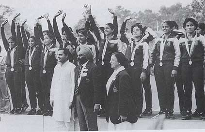 Indian Hockey Team 1982 Asian Games
