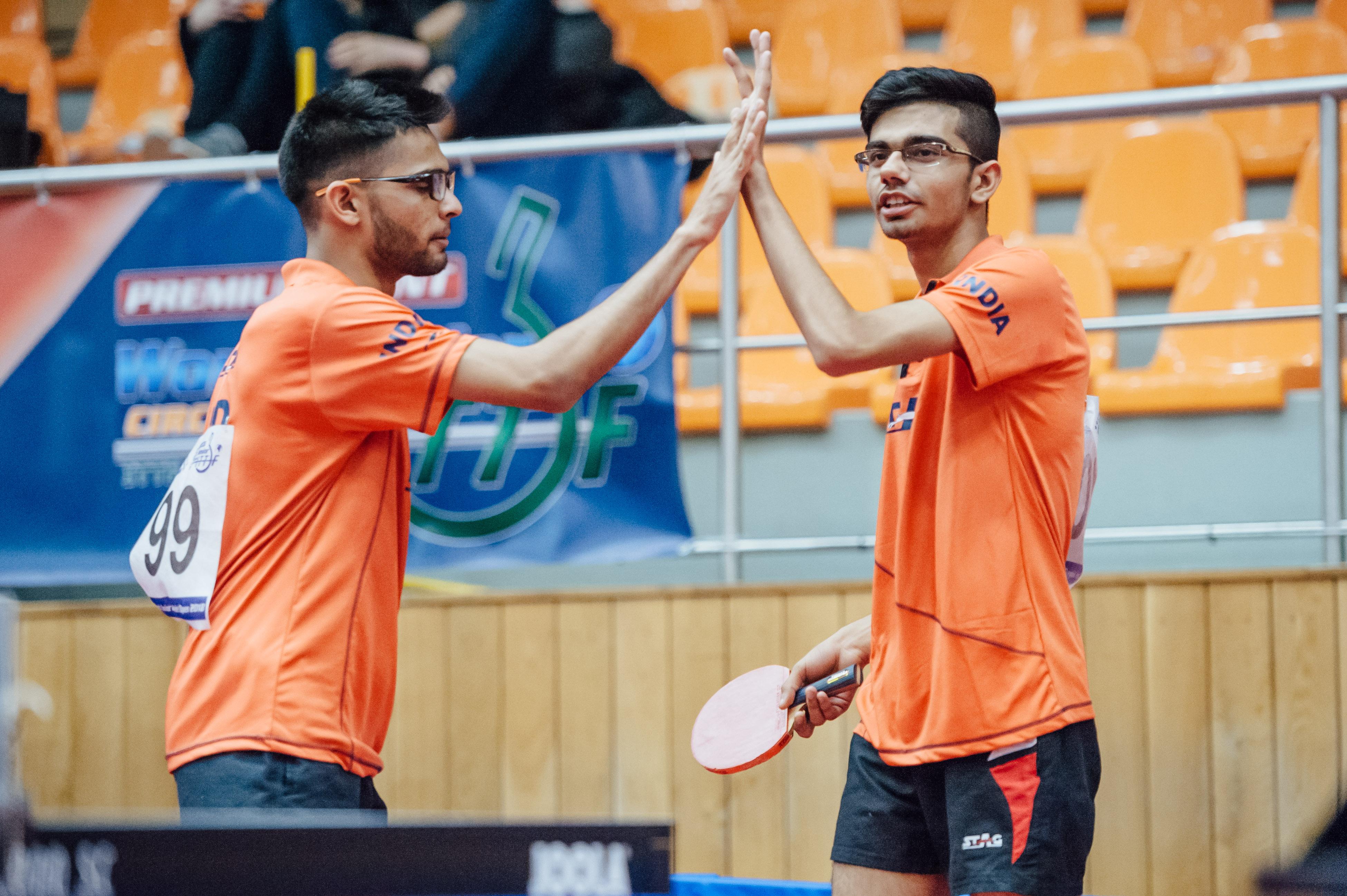 India at 2018 Czech Junior & Cadet Open