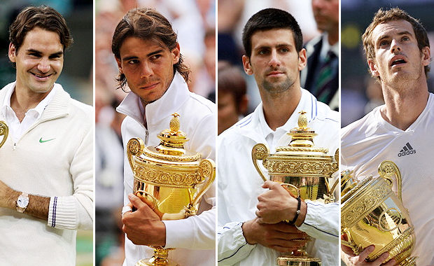 """Andre Agassi reveals which players can challenge """"Big Four"""""""