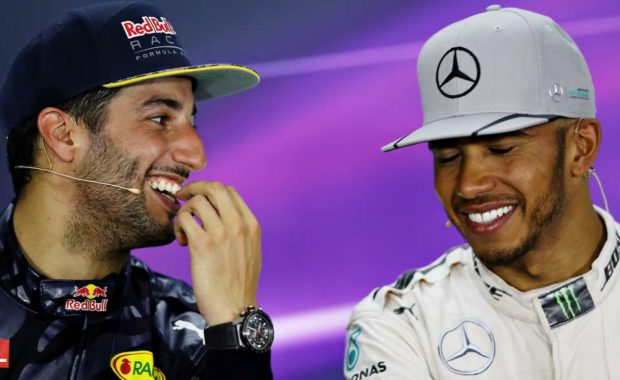"Daniel Ricciardo : ""I would love to go up against Lewis Hamilton"""