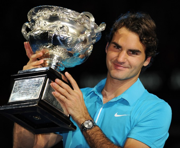 Federer winning title after being a father