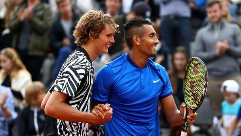 Nick Kyrgios and Alexander Zverev challenge Big Four